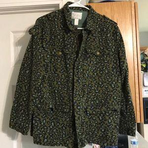 Forever 21 Leopard Print Utility Jacket
